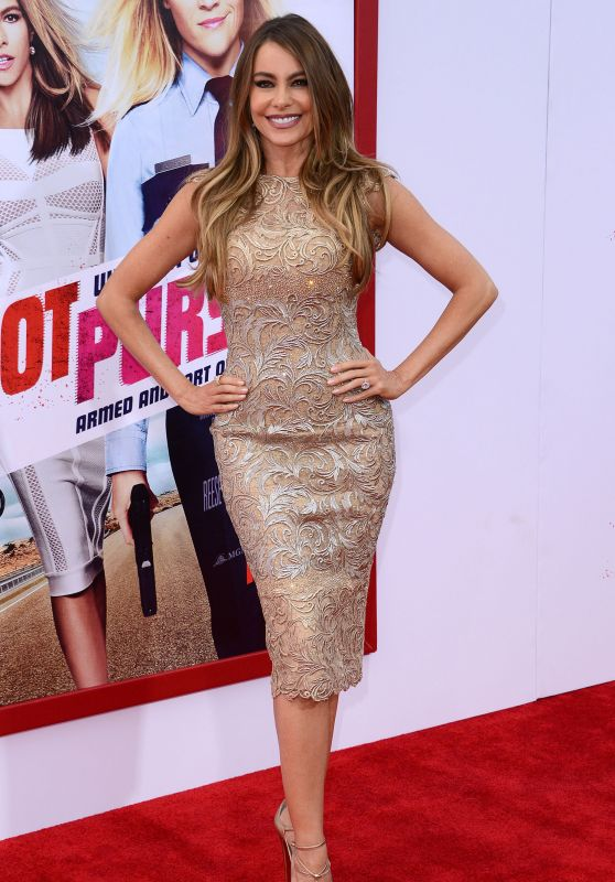 Sofia Vergara on Red Carpet - Hot Pursuit Premiere in Hollywood