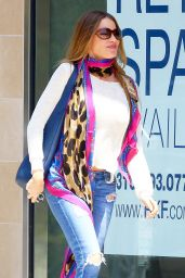 Sofia Vergara Street Style - Out in West Hollywood, May 2015