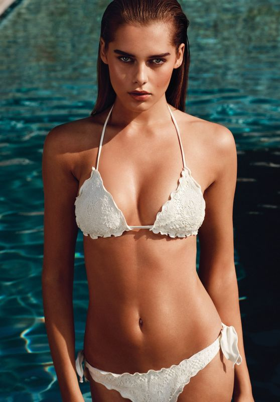 Solveig Mork Hansen - TWIN-SET Swimwear Photoshoot - Spring/Summer 2015