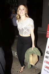 Sophia Bush Night Out Style - at Craig