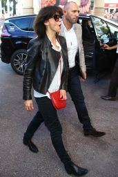 Sophie Marceau - 2015 Cannes Film Festival - Nice Airport & Nice Streets