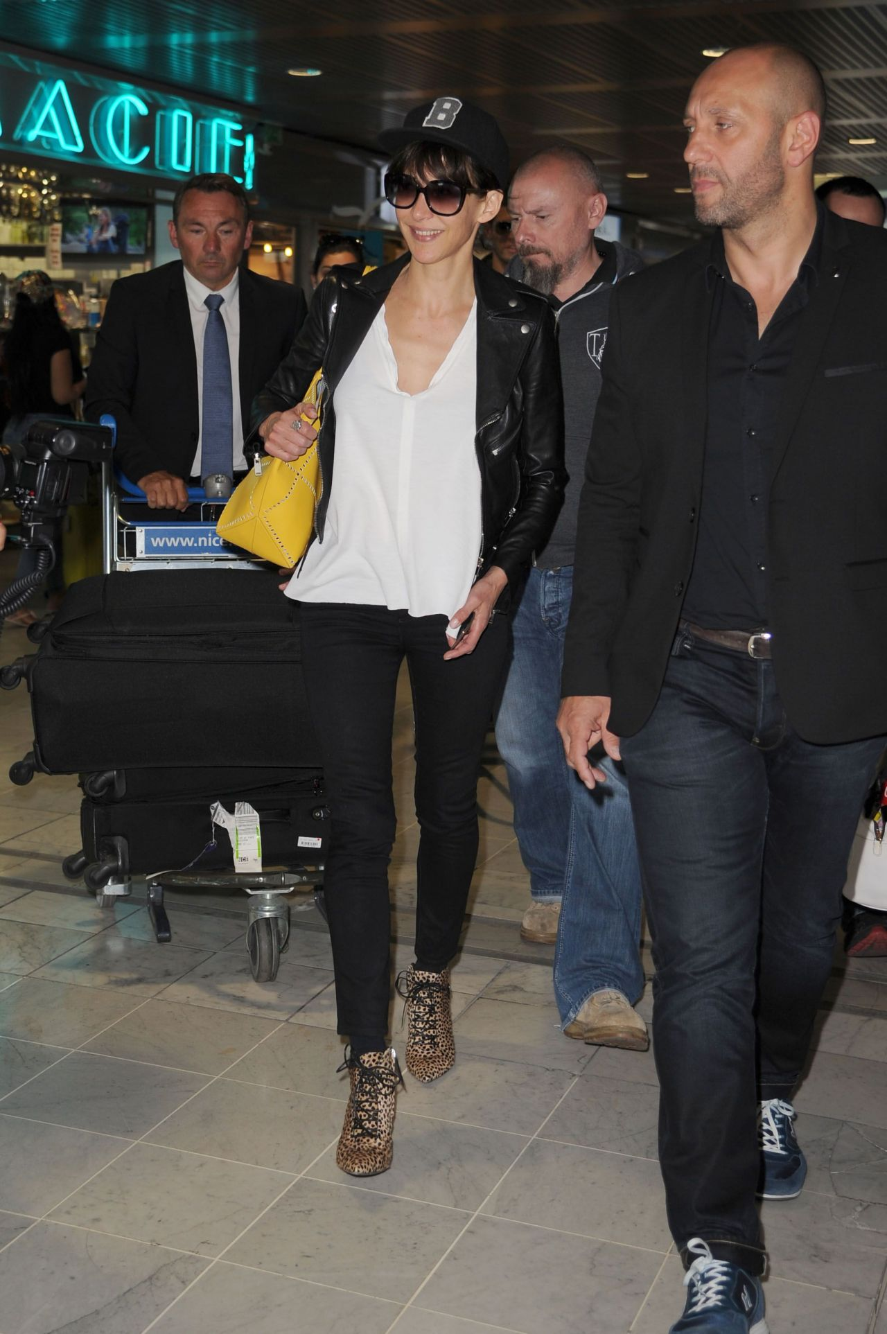 Sophie Marceau 2015 Cannes Film Festival Nice Airport