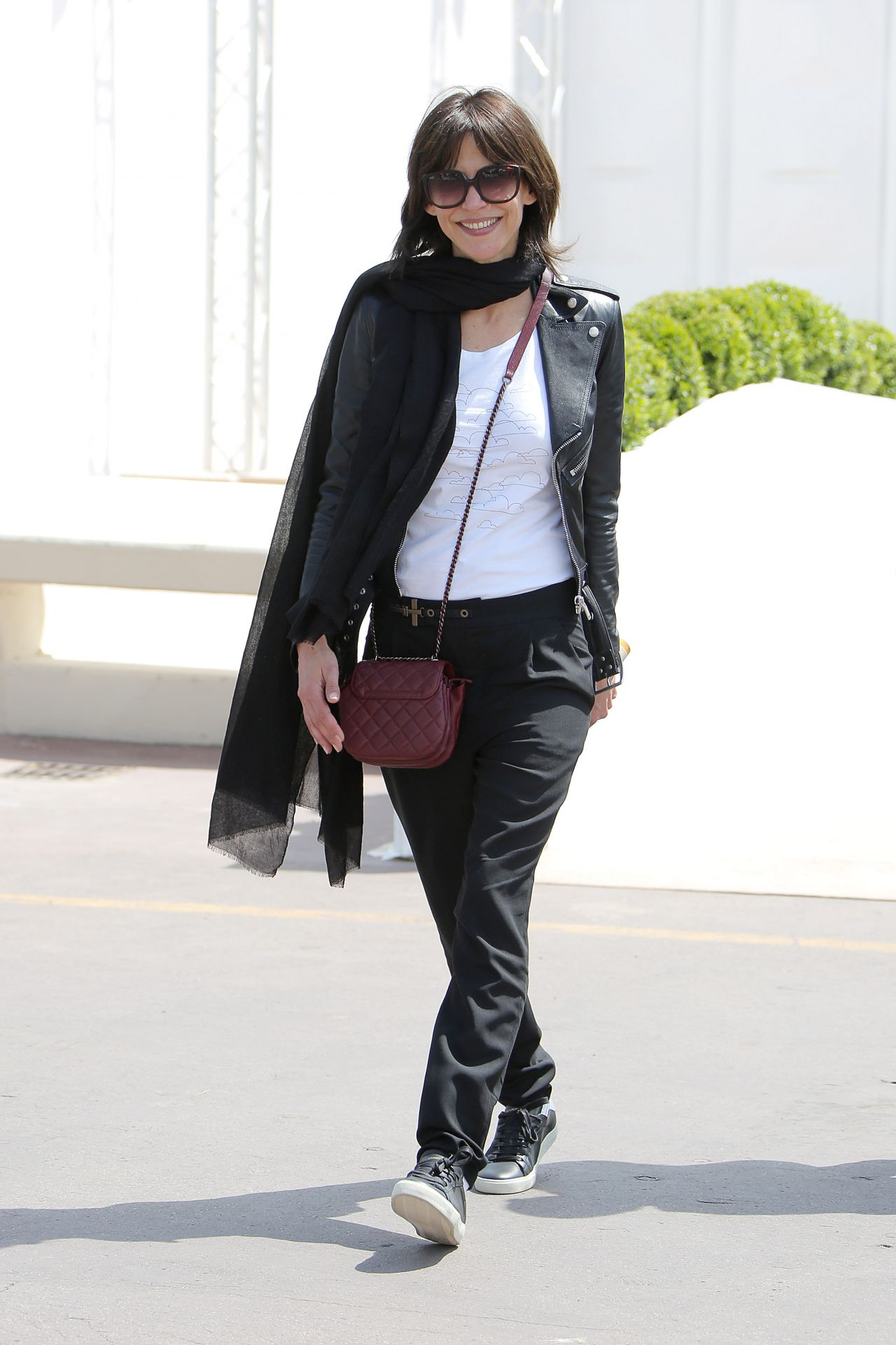Sophie Marceau Casual Style – Out in Cannes, May 2015