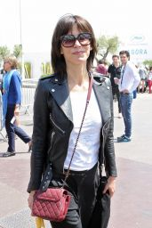 Sophie Marceau Casual Style - Out in Cannes, May 2015
