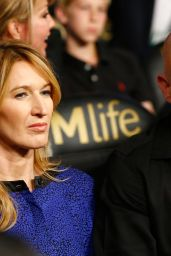 Steffi Graf & Andre Agassi - Welterweight Unification Championship - Mayweather VS Pacquiao in Las Vegas