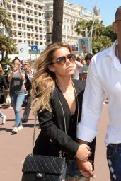 Sylvie Meis & Maurice Mobetie - Out in Cannes, May 2015