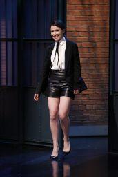 Tatiana Maslany - Late Night with Seth Meyers, May 2015