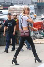 Taylor Swift Casual Style - Out in New York City - May 2015