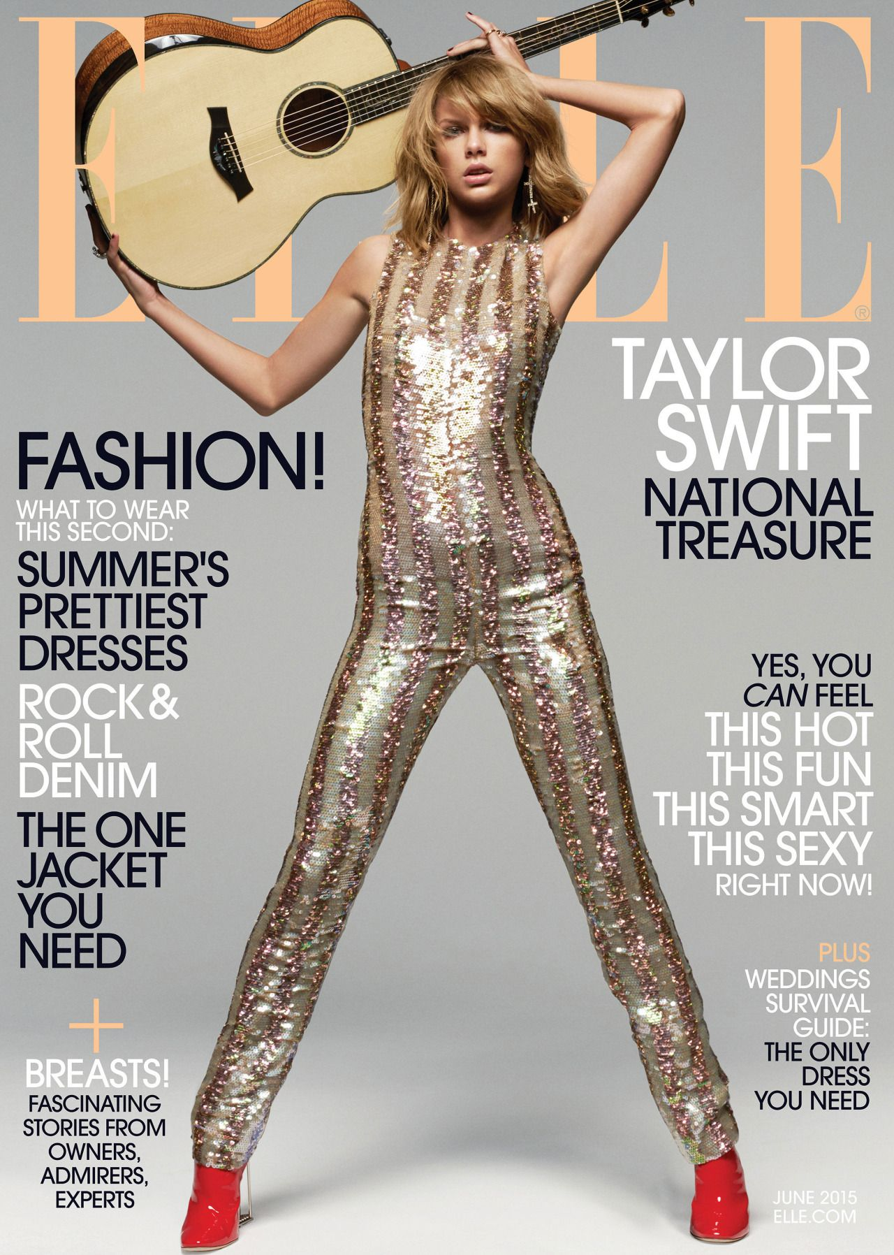 Taylor Swift - Elle Magazine June 2015 Issue • CelebMafia