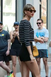 Taylor Swift - Leaving Her Apartment in NYC, May 2015