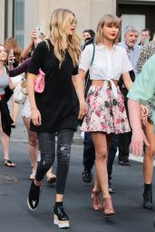 Taylor Swift, Martha Hunt and Gigi Hadid - Out in New York City, May 2015