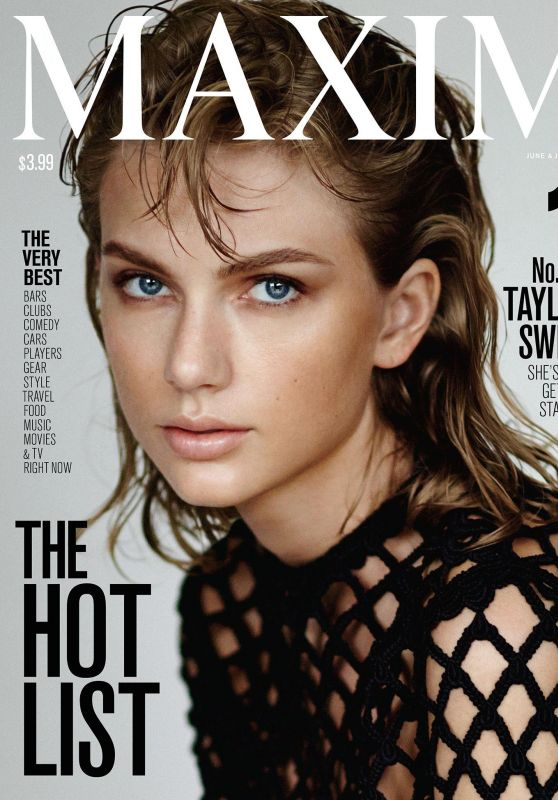 Taylor Swift - Maxim Magazine June/July 2015 Cover and Photos