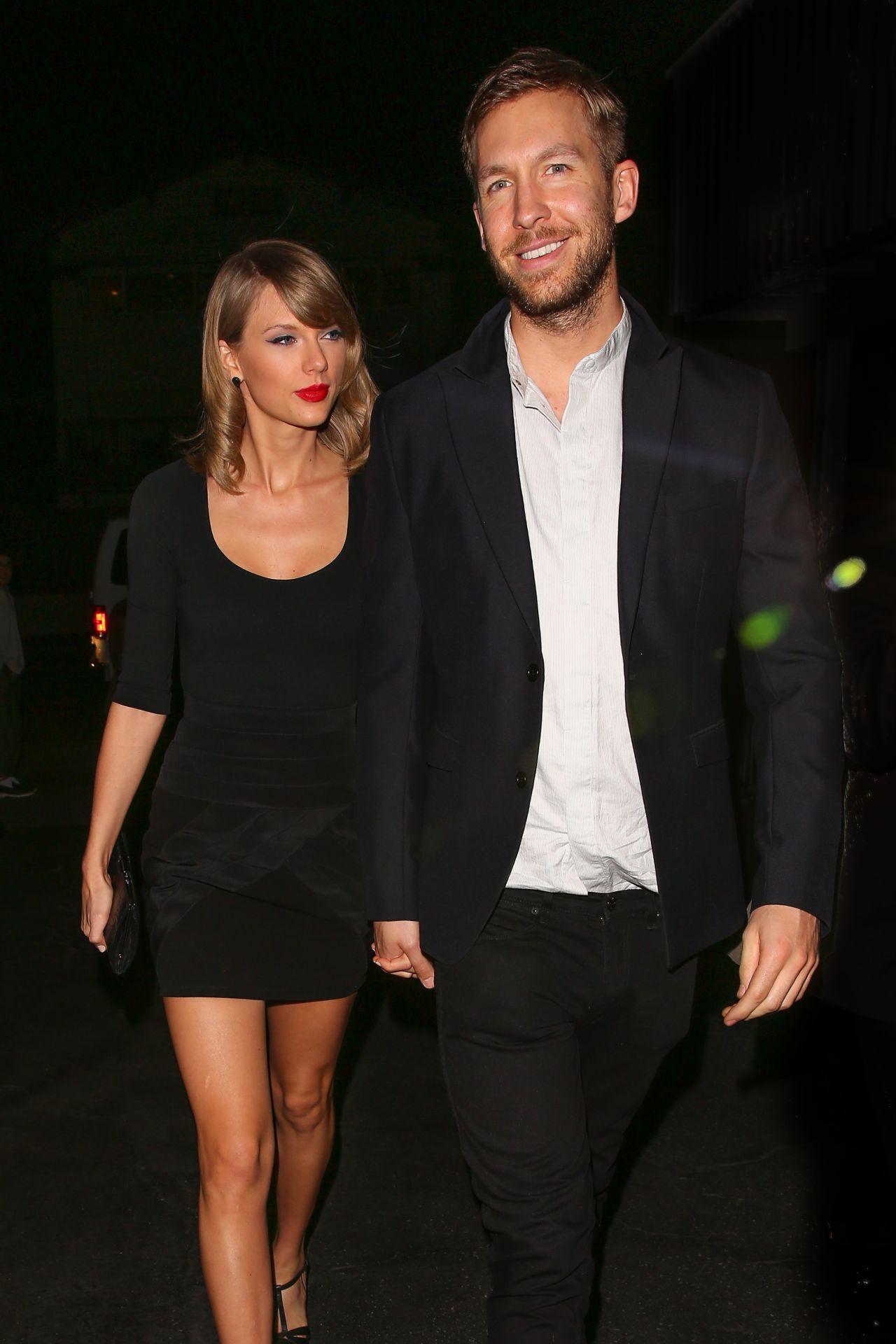 Taylor Swift with Calvin Harris - Leaving Gjelina Restaurant in Venice, CA, May 2015