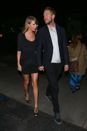 Taylor Swift with Calvin Harris - Leaving Gjelina Restaurant in Venice, CA, May 2015