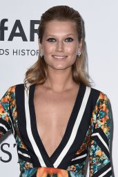 Toni Garrn – 2015 amfAR Cinema Against AIDS Gala in Antibes (France)