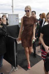 Toni Garrn - Leaves the Fendi Book Party Launch in Cannes, May 2015