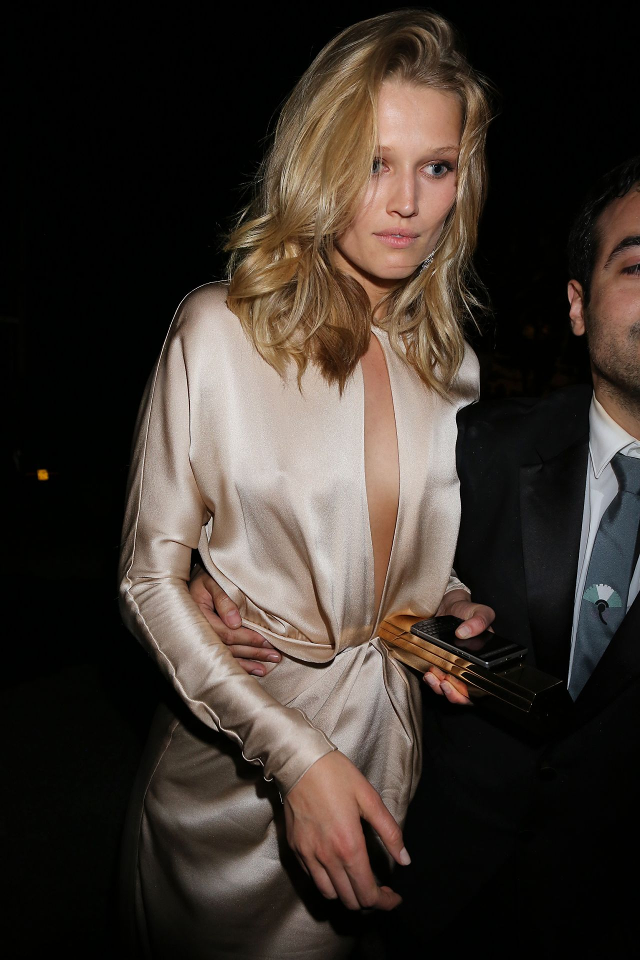 Toni garrn leaving chopard party in cannes may 2015