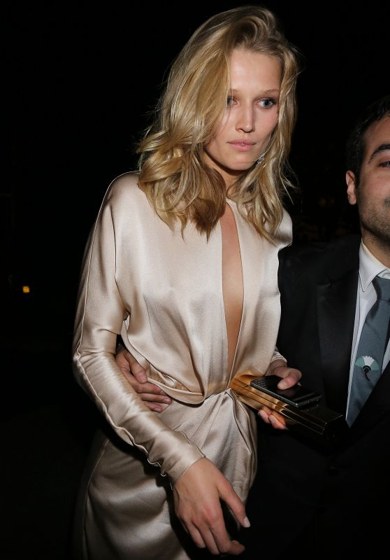 Toni Garrn - Leaving Chopard Party in Cannes, May 2015
