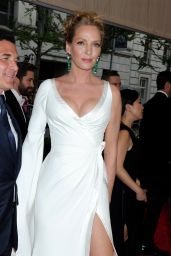 Uma Thurman – 2015 Costume Institute Benefit Gala in New York City