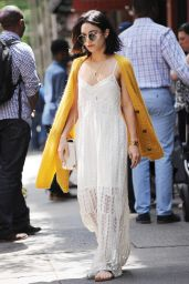 Vanessa Hudgens Casual Style - Out in Soho, New York City, May 2015