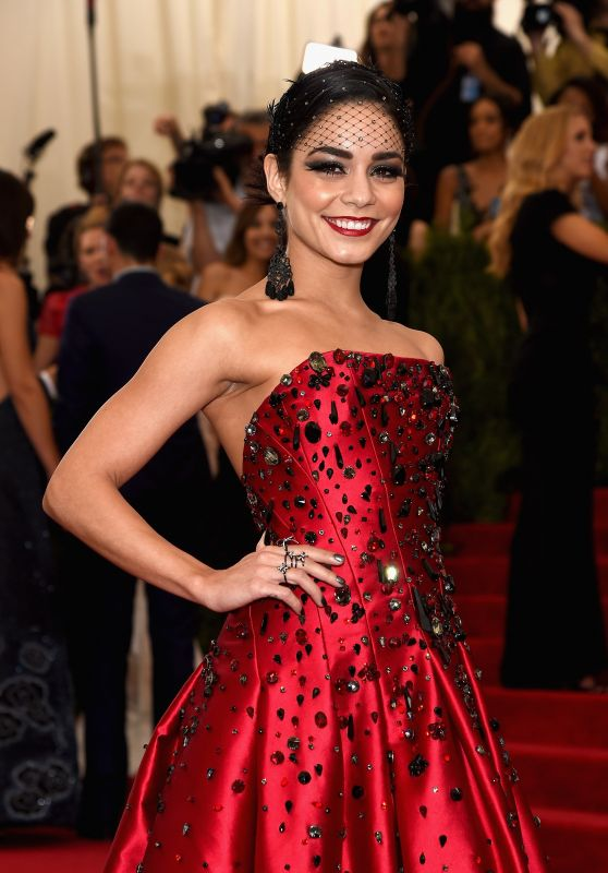 Vanessa Hudgens – Costume Institute Benefit Gala in New York City, May 2015