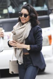 Vanessa Hudgens in Tight Jeans - Out in New York City, May 2015