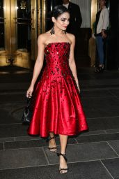 Vanessa Hudgens - Leaving a Hotel in NYC, May 2015