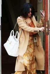 Vanessa Hudgens - Leaving Her Apartment in NYC, April 2015