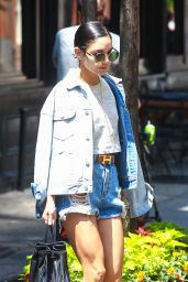 Vanessa Hudgens - Leaving Her Apartment in NYC, May 2015