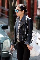 Vanessa Hudgens - Leaving Her Apartment in Soho, New York City, May 2015