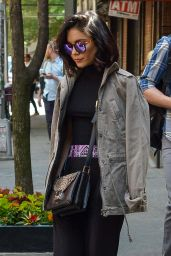 Vanessa Hudgens - Out in New York City, May 2015