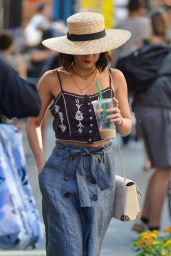 Vanessa Hudgens Street FAstion - Out in NYC, May 2015