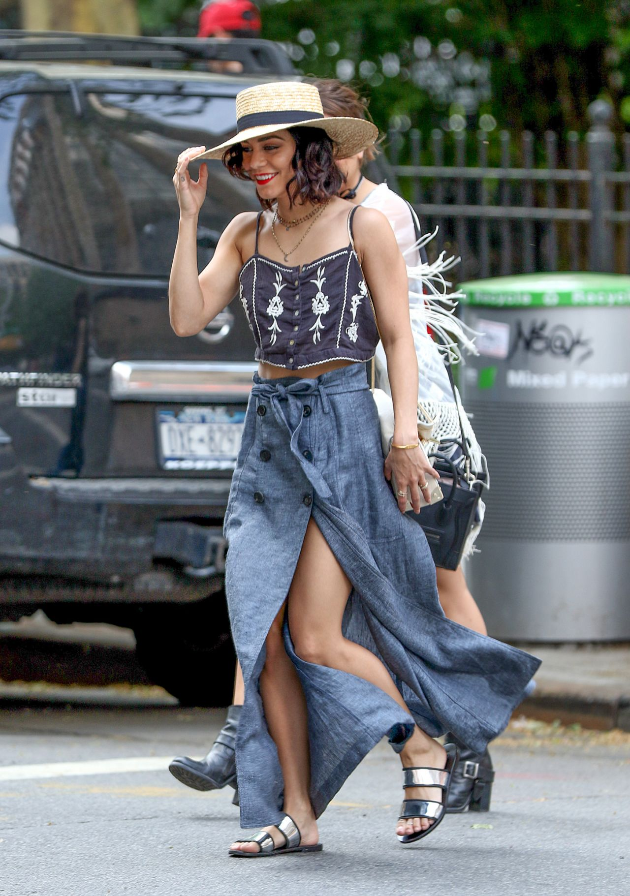Vanessa Hudgens Street FAstion - Out in NYC, May 2015 ...