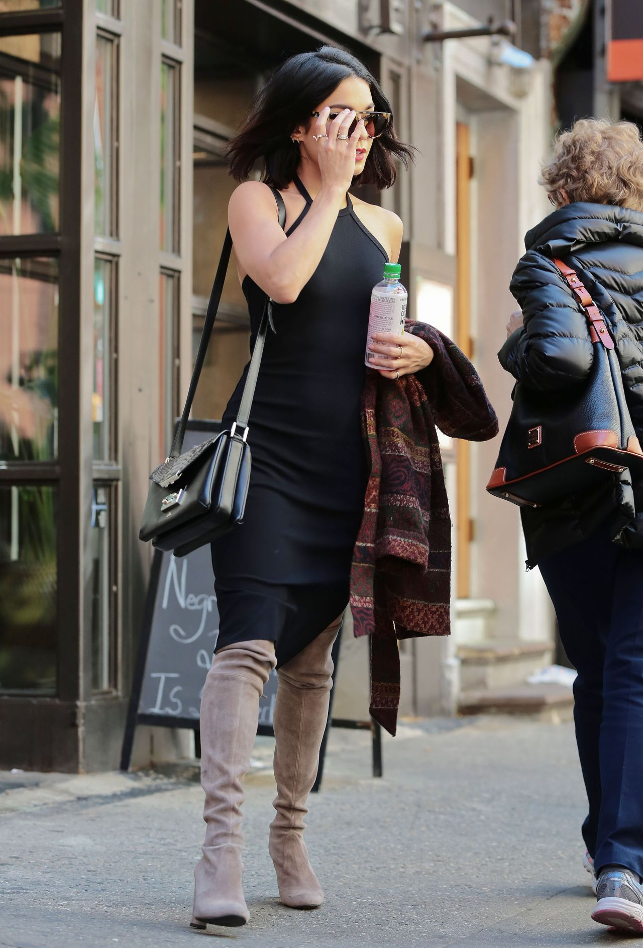 Vanessa Hudgens Style New York City May 2015