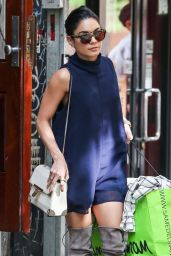 Vanessa Hudgens Style - Shopping in NYC, May 2015