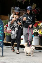 Vanessa & Stella Hudgens - Out in New York City, May 2015
