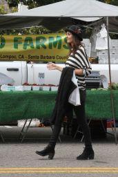 Victoria Justice at Farmer