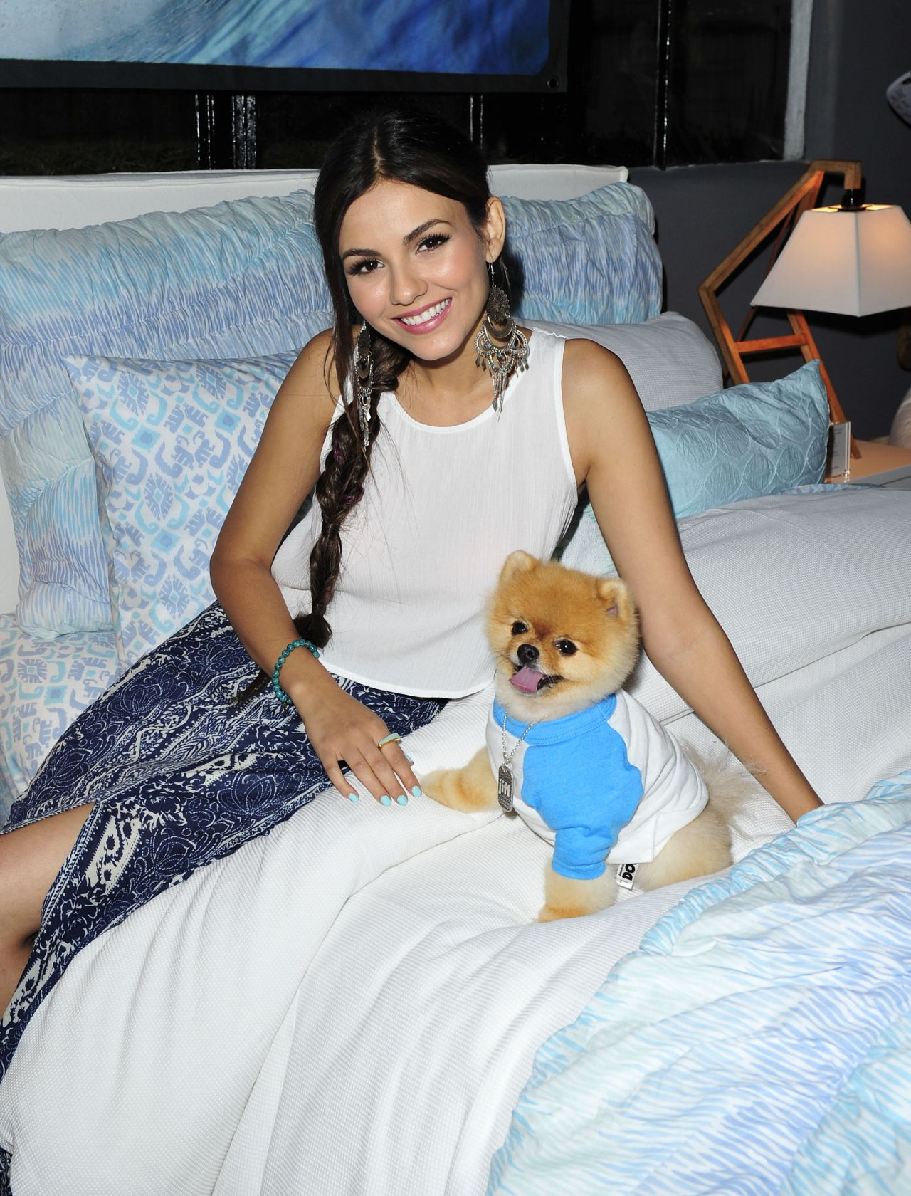 Victoria Justice Pottery Barn Teen Launch Event In Los