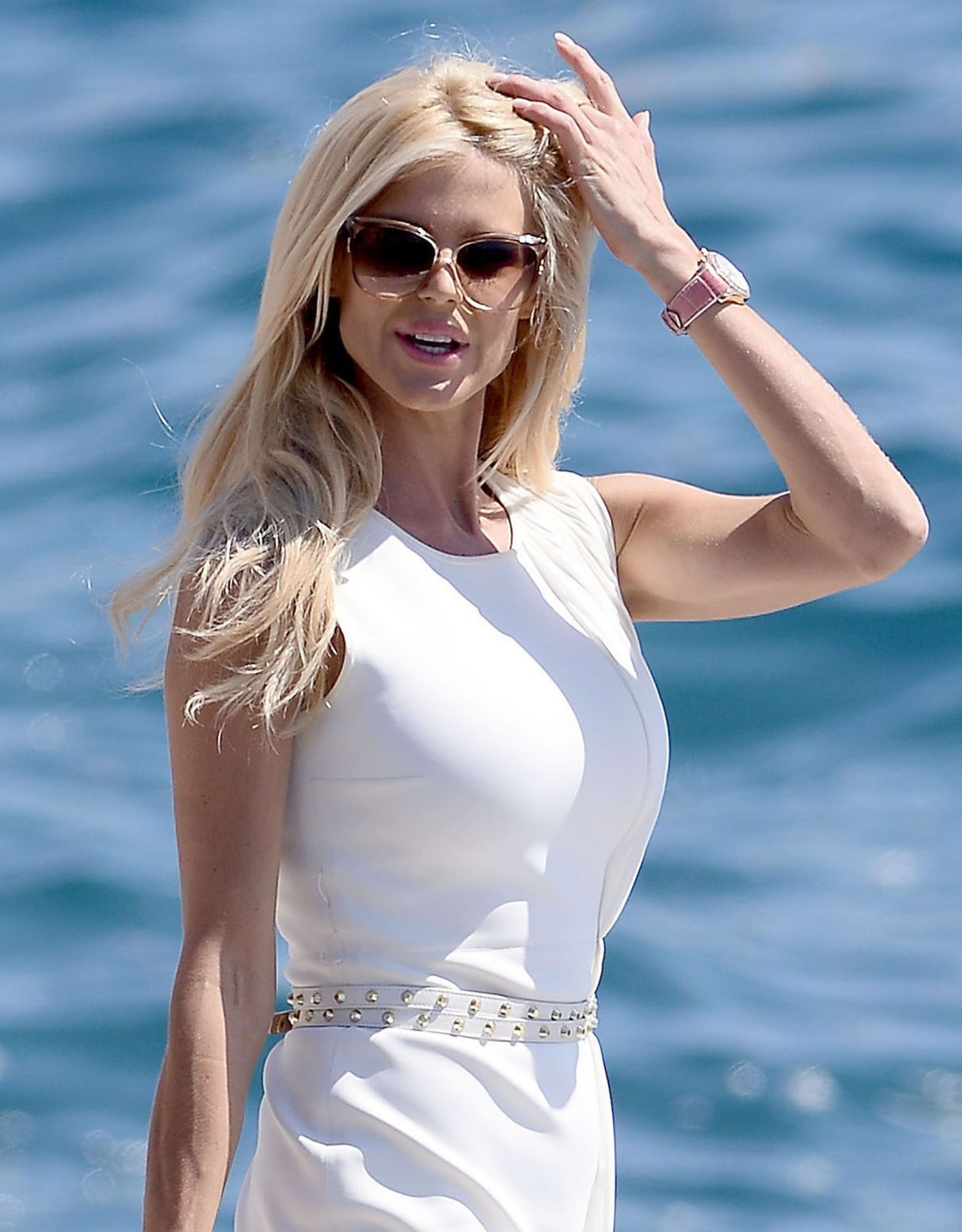 Victoria Silvstedt At The Hotel Du Cap-Eden-Roc In Cannes