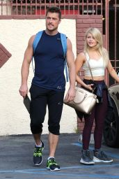 Witney Carson - Dancing With The Stars Rehearsal Studio in Hollywood, April 2015