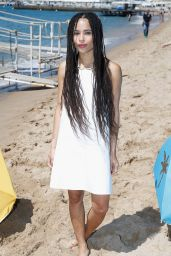 Zoë Kravitz - Dope Photocall During the 68th Annual Cannes Film Festival in France