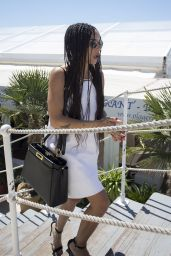 Zoë Kravitz - Out in Cannes, France, May 2015