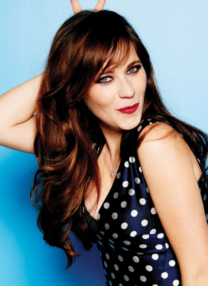 Zooey Deschanel Cosmopolitan Magazine June 2015