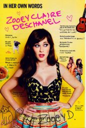 Zooey Deschanel - Cosmopolitan Magazine June 2015