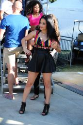 Becky G Performs at LA Pride in West Hollywood, June 2015