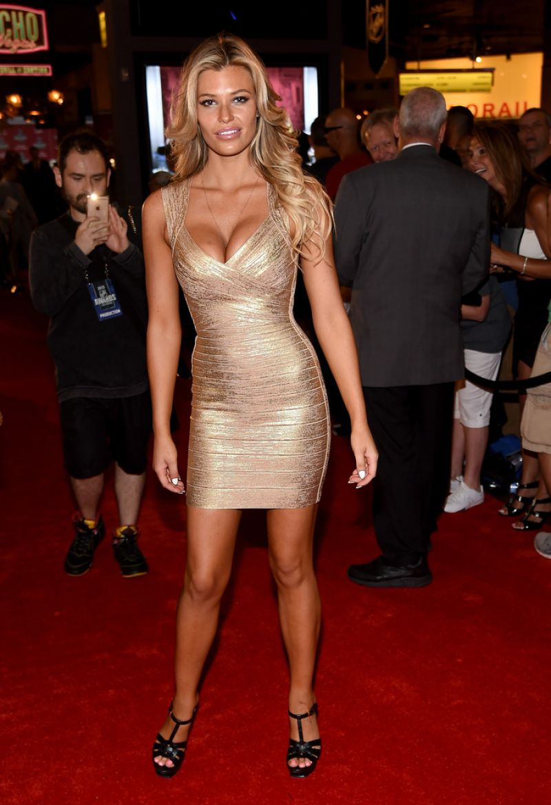 Samantha Hoopes 2015 Nhl Awards In Las Vegas