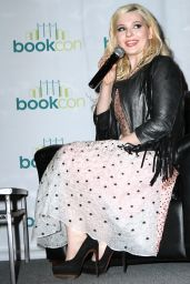 Abigail Breslin at BookCon 2015 in New York City