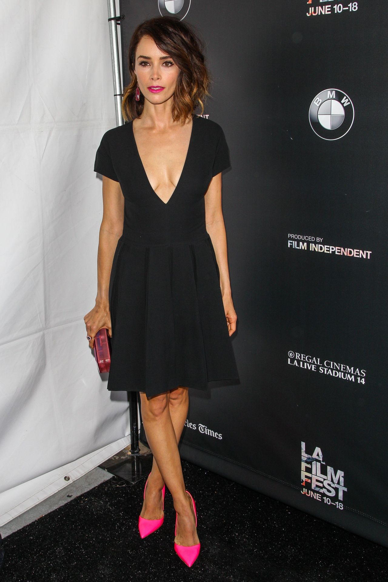 Abigail Spencer A Beautiful Now Screening In Los Angeles