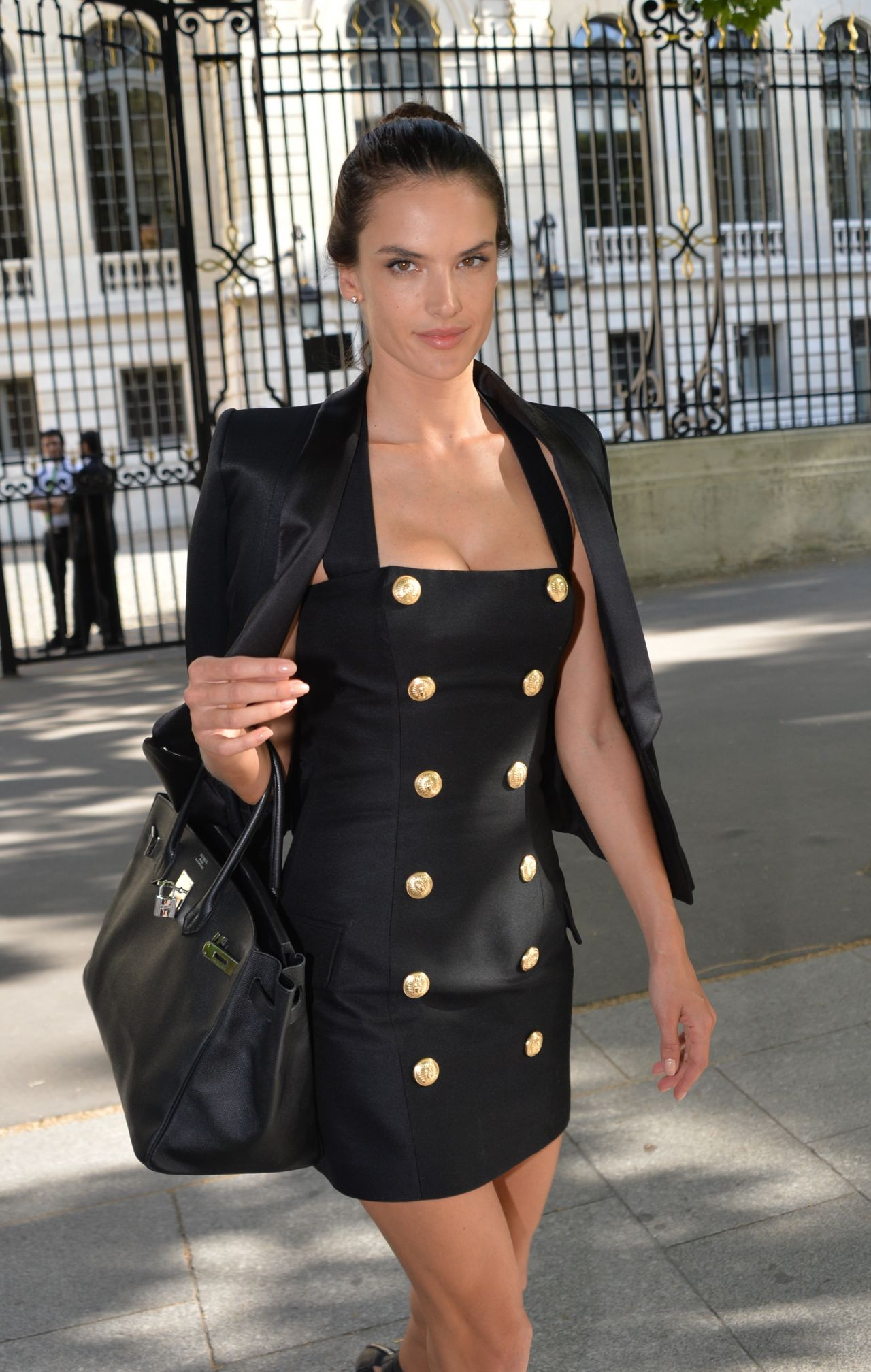 Ambrosio - Balmain Fashion Show in Paris, June 2015