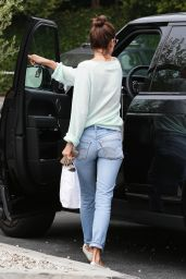 Alessandra Ambrosio - Brentwood Country Mart in Los Angeles, June 2015